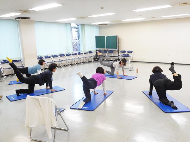 体幹エクササイズ(中級コース)